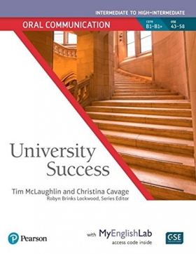 University Success Oral Communication Intermediate to High-Intermediate Student Book with MyEnglishLab