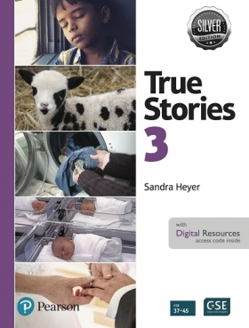 True Stories Silver Edition 3 Student Book with Digital Resources