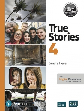 True Stories Silver Edition 4 Student Book with Digital Resources