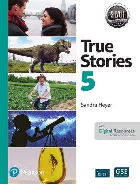 True Stories Silver Edition 5 Student Book with Digital Resources