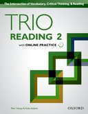 Trio Reading 2 Student Book with Online Practice