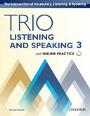 Trio Listening and Speaking 3 Student Book with Online Practice
