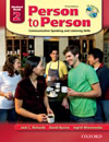 Person to Person Third Edition 2 Student Book with Audio CD