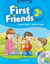 First Friends : American Edition Level 2 Student Book/Workbook A with Audio CD Pack