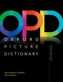 Oxford Picture Dictionary 3rd Edition Monolingual Dictionary