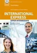 International Express 3rd Edition Upper-Intermediate Student Book with Pocket Book and DVD-ROM