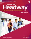 American Headway 3rd Edition 1 Student Book with Oxford Online Skills