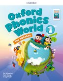 Oxford Phonics World Refresh version Level 1 Student Book with APP