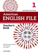 American English File 2nd Edition 1 Teacher's Book with Test and Assessment CD-ROM