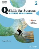 Q: Skills for Success 2nd Edition Listening and Speaking 2  Student Book with iQ Online