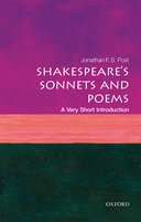 Shakespeare\'s Sonnets and Poems: A Very Short Introduction