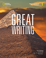 The Great Writing Series 5th Edition 1 Great Sentences for Great Paragraphs Student Book