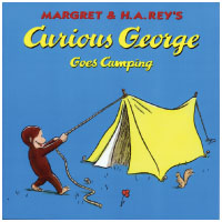 Curious George New Adventures シリーズ: Curious George Goes Camping