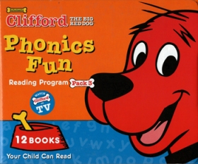 Clifford Phonics Fun Pack 3 (12 Books + CD + Japanese Guide)