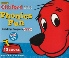 Clifford Phonics Fun Pack 5 (12 Books + CD + Japanese Guide)