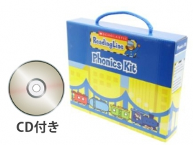 Scholastic Reading Line Phonics Briefcase (21 Books + CD)