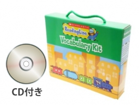 Scholastic Reading Line Vocabulary Kit (21 Books & CD)