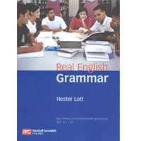 Real English Grammar Pre-Intermediate Student Book with CD