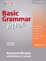 Basic Grammar in Use 3rd Edition Student's Book with Answers and CD-ROM