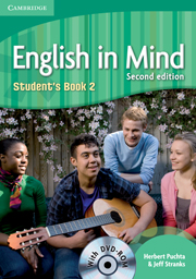 English in Mind 2nd Edition Level 2 Student's Book with DVD