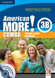 American More! 3 Combo B with Audio CD/CD-ROM
