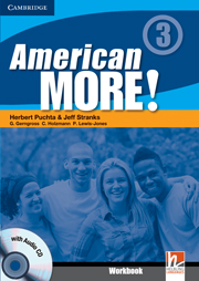 American More! 3 Workbook with Audio CD