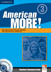 American More! 3 Teacher\'s Resource Pack with Testbuilder Audio CD/CD-ROM