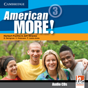 American More! 3 Class Audio CDs