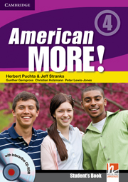 American More! 4 Student\'s Book with CD-ROM