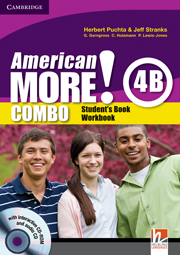 American More! 4 Combo B with Audio CD/CD-ROM