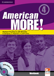 American More! 4 Workbook with Audio CD