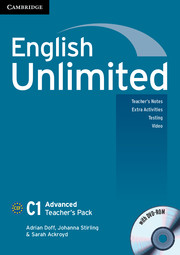 English Unlimited Advanced Teacher\'s Pack (Teacher\'s Book with DVD-ROM)