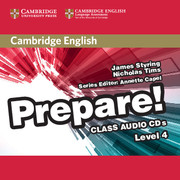Cambridge English Prepare! Level 4 Class Audio CDs (2)