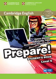 Cambridge English Prepare! Level 6 Student\'s Book