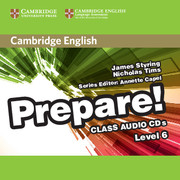 Cambridge English Prepare! Level 6 Class Audio CDs (2)