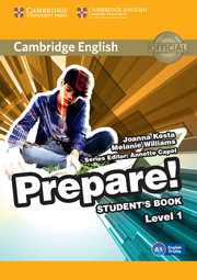 Cambridge English Prepare! Level 1 Student's Book