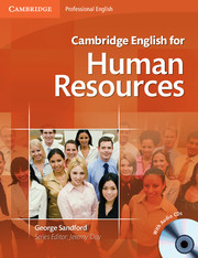 Cambridge English for Human Resources Student\'s Book with Audio CDs (2)