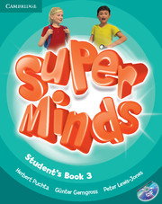 Super Minds 3 Student's Book with DVD-ROM (British English)