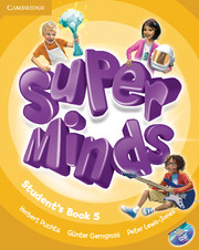 Super Minds 5 Student's Book with DVD-ROM (British English)