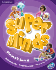 Super Minds 6 Student's Book with DVD-ROM (British English)