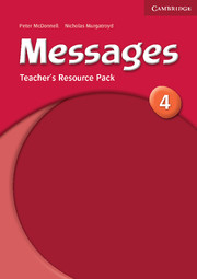 Messages 4 Teacher\'s Resource Pack