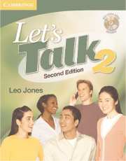Let's Talk 2nd Edition Student's Book 2 with Self-Study Audio CD