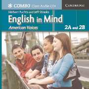 English in Mind Combos 2A and 2B, American Voices Class Audio CDs