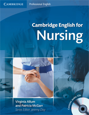 Cambridge English for Nursing Intermediate Plus Student\'s Book with Audio CDs (2)