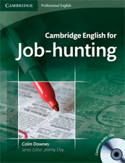 Cambridge English for Job-hunting Student\'s Book with Audio CDs (2)