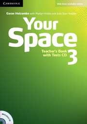Your Space 3 Teacher\'s Book with Tests CD