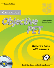 Objective PET 2nd Edition Student\'s Book with answers with CD-ROM