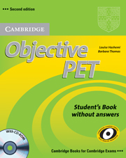 Objective PET 2nd Edition Student\'s Book without answers with CD-ROM