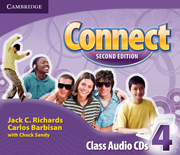 Connect 2nd Edition 4 Class Audio CDs