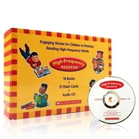 Scholastic High Frequency Readers (18冊 + CD)